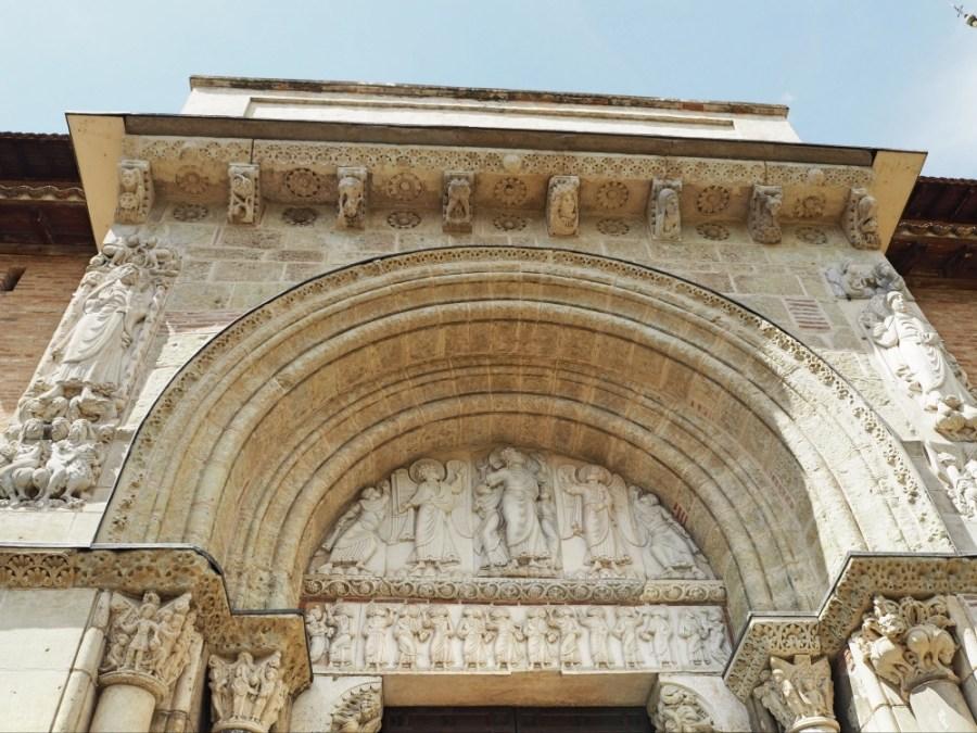 The door of the Basilique St-Sernin