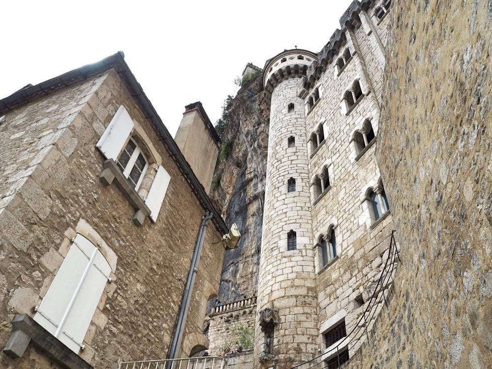 Rocamadour's medieval buildings