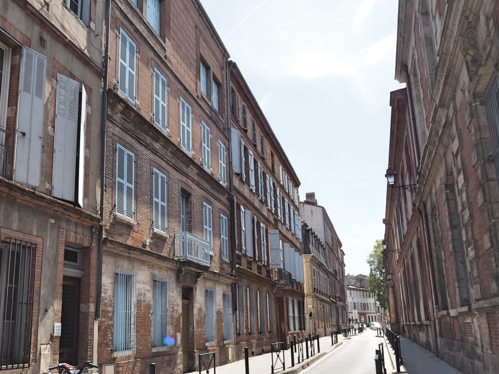 Toulouse is a great city to walk around!