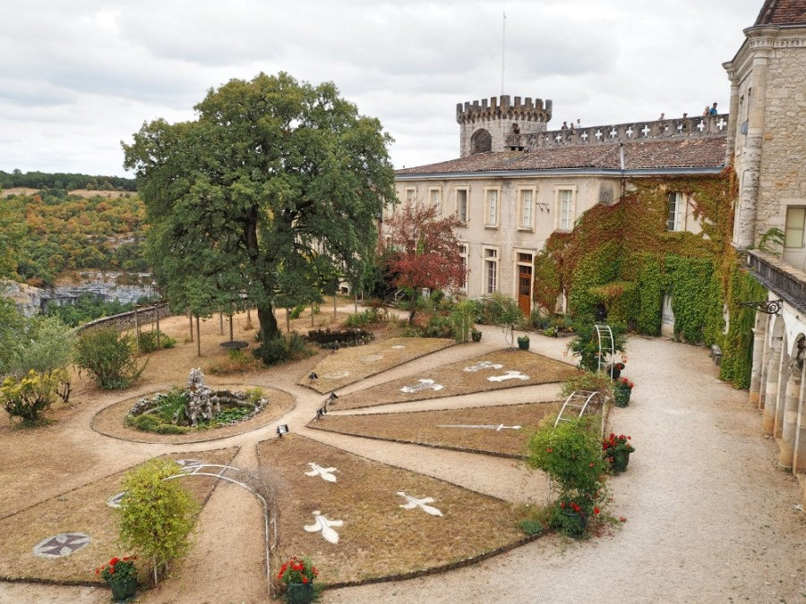The gardens of the castle