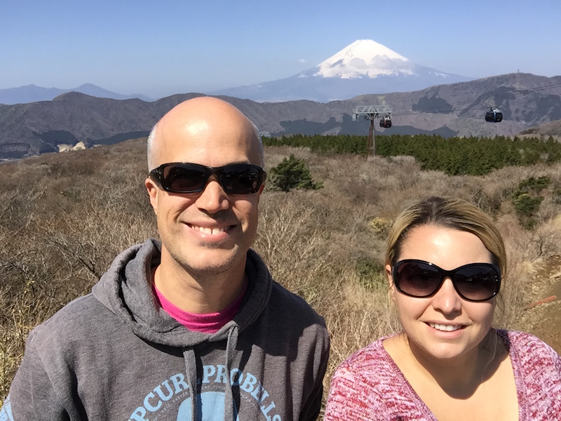 Selfie with Mt Fuji!