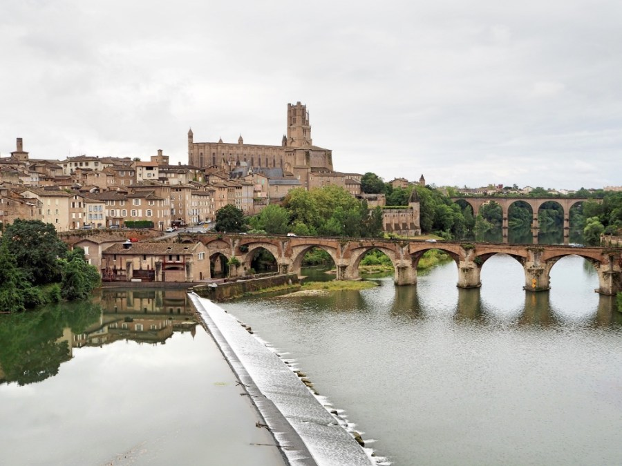 Beautiful Albi and the river Tarn.