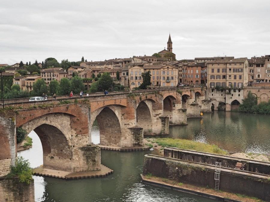 The old bridge.