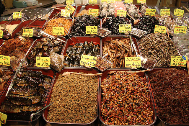 Or maybe some dried fish?