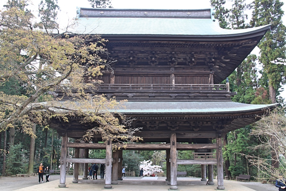 The main gate of Engaku-Ji