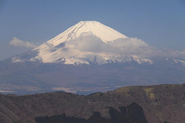 The imposing Mt Fuji!