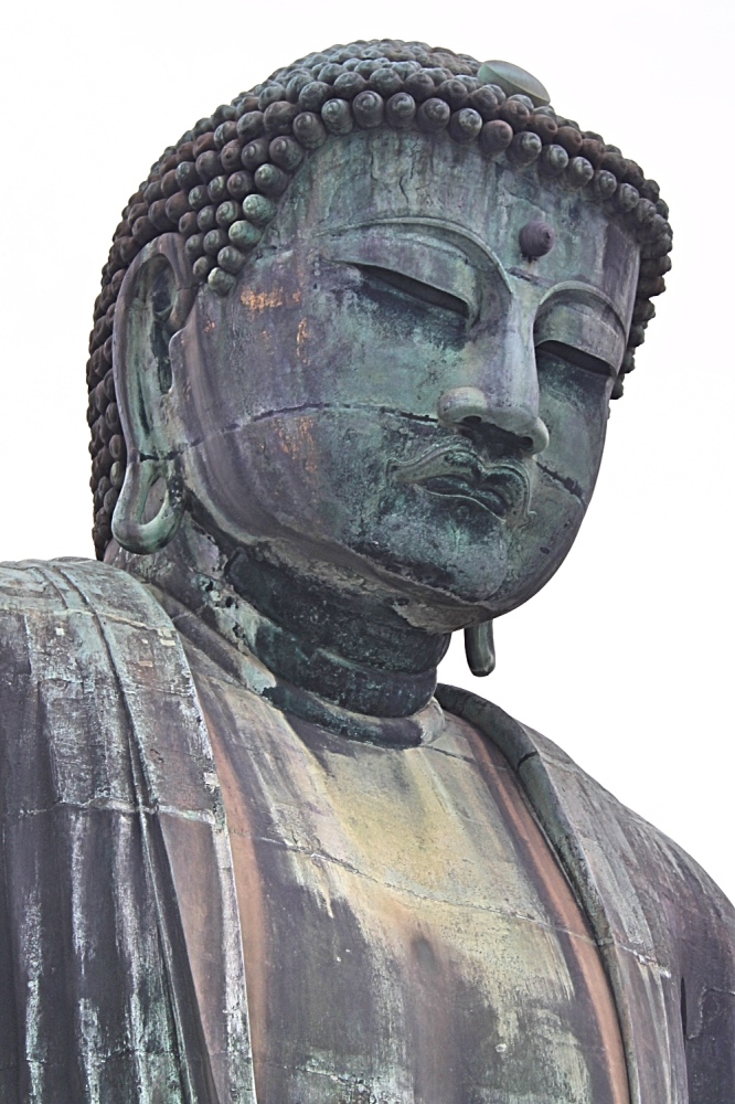 Head shot of the big buddha