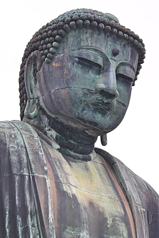 Head shot of the big buddha