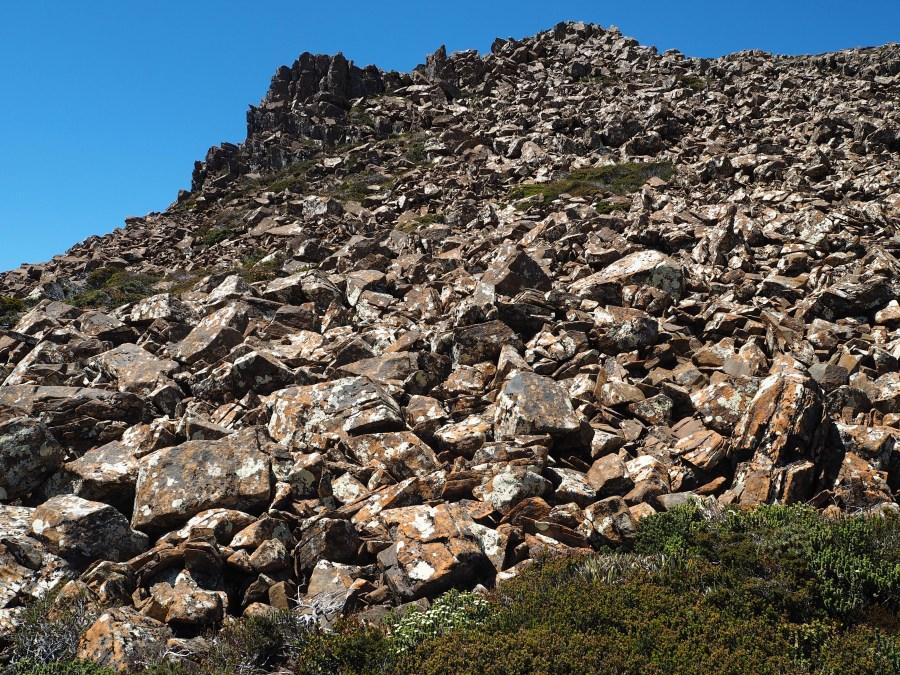 So many boulders!