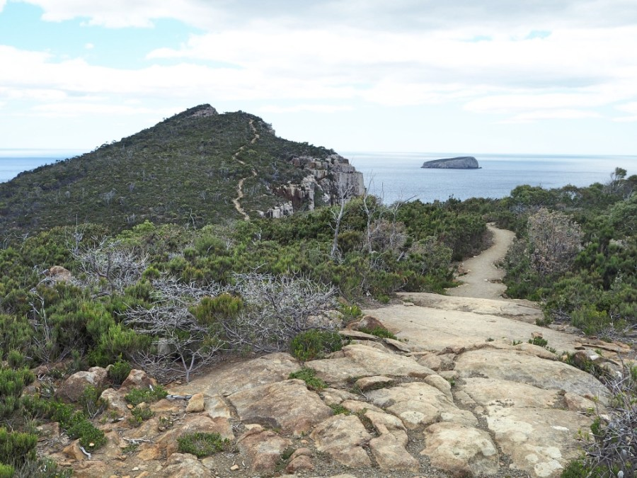 Walking towards Cape Hauy.