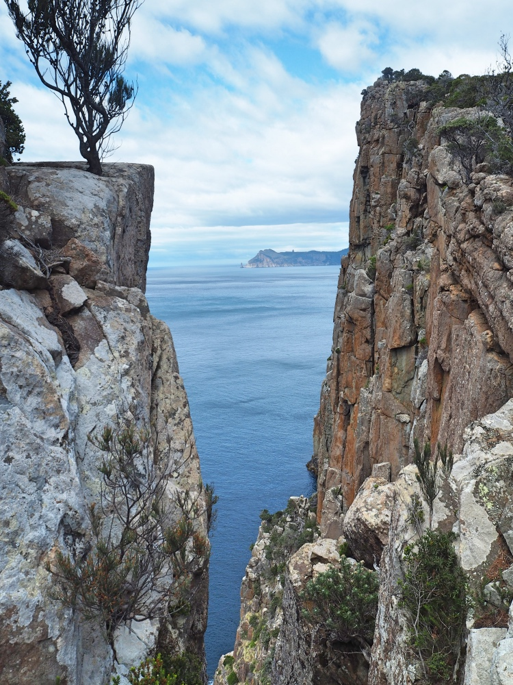 Great cliff views!