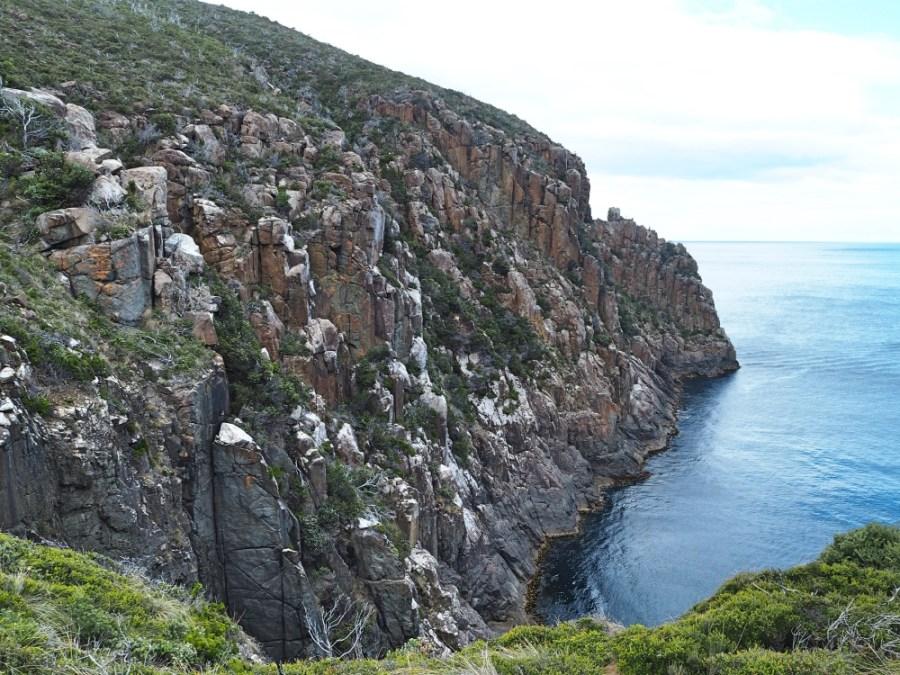 Impressive cliffs!