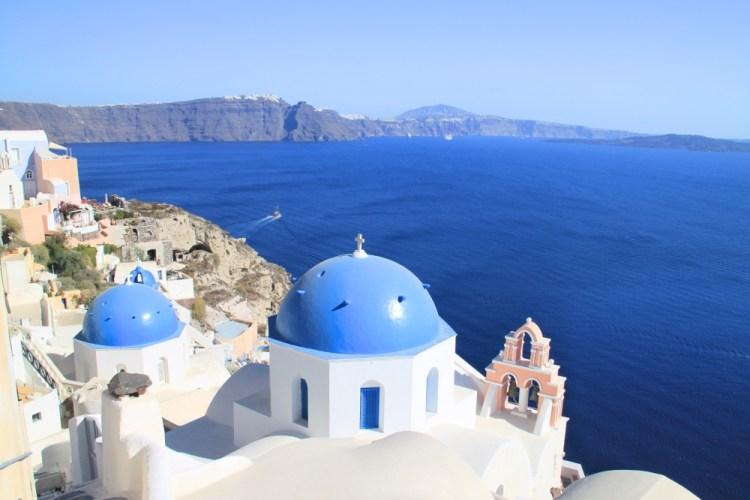 Stunning Santorini.
