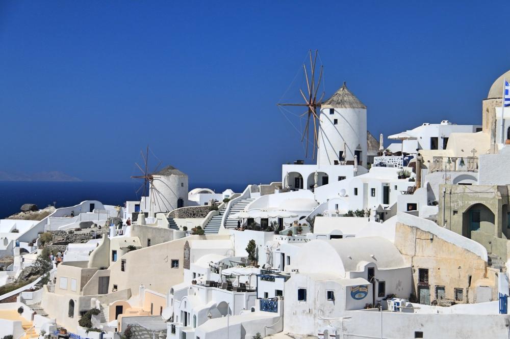 Santorini a photographer's paradise.