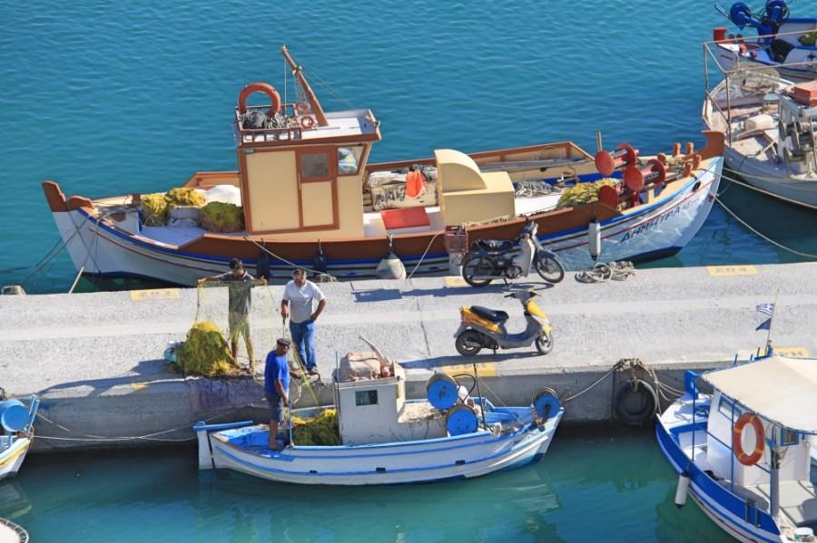 The working fishermen.