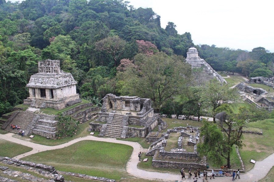 More interesting ruins, Palenque in the Chiapas state.