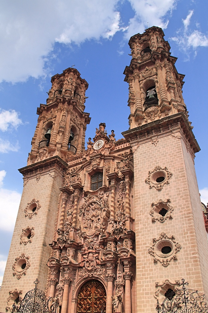 The impressive Taxco Cathedral