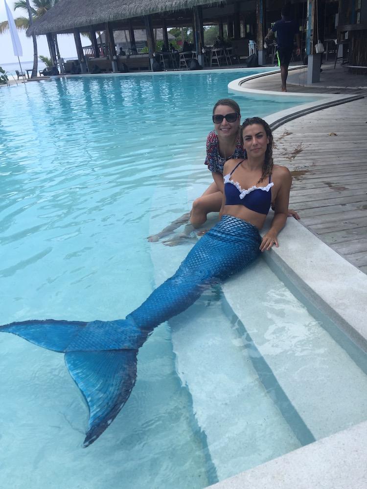 I met a mermaid!