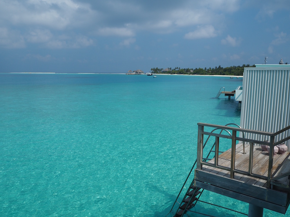 The right view from our villa.