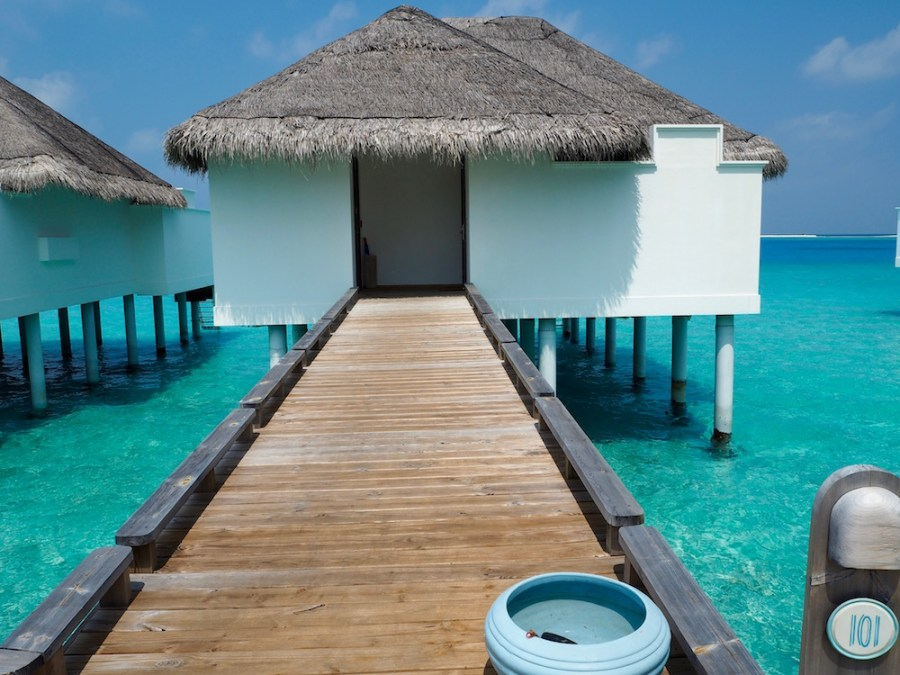Our overwater villa