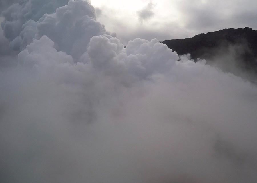 So much steam!