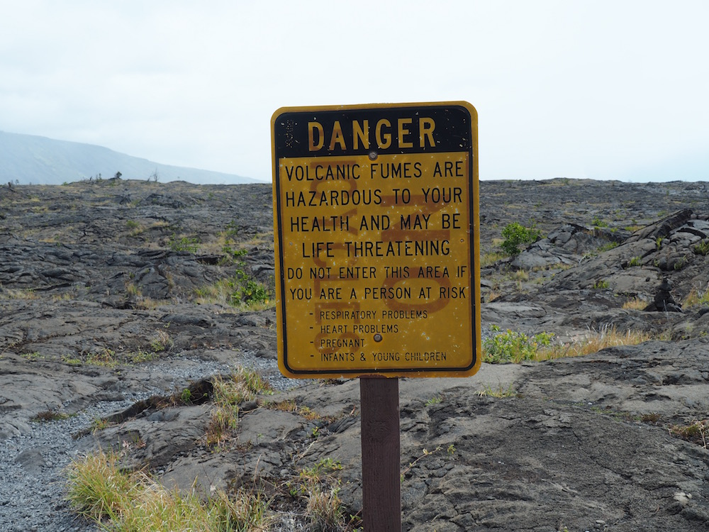 Sign at the start of the hike to the Petroglyths.