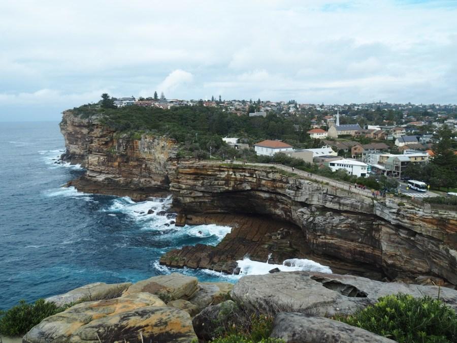 Beautiful coastal views from the Gap.