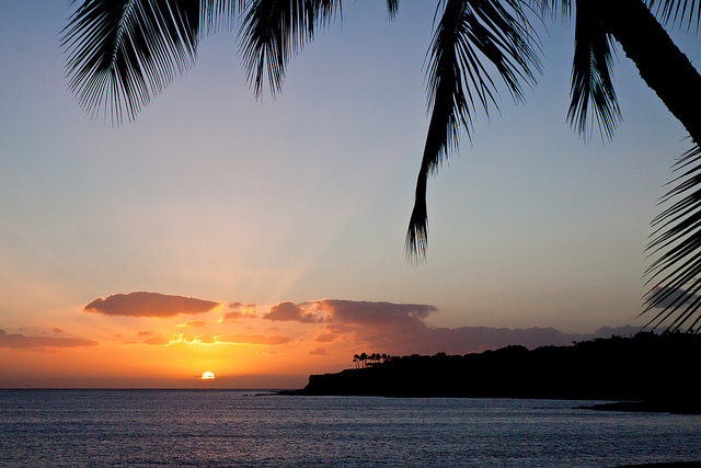 A beautiful Lanai sunset