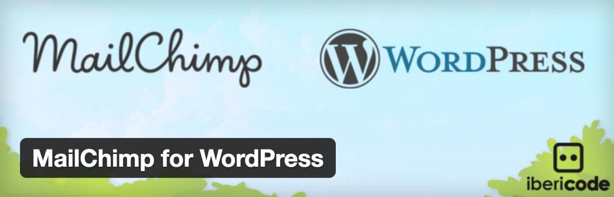 The Mailchimp for WordPress plugin