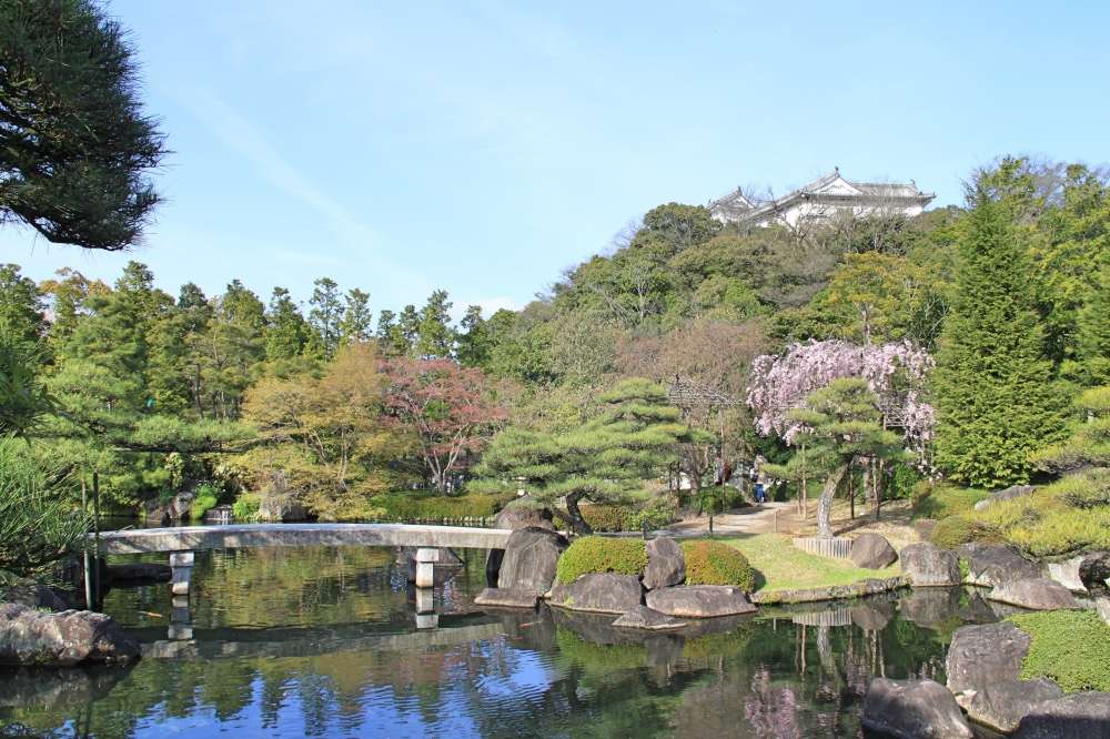 The beautiful Kokoen Garden.