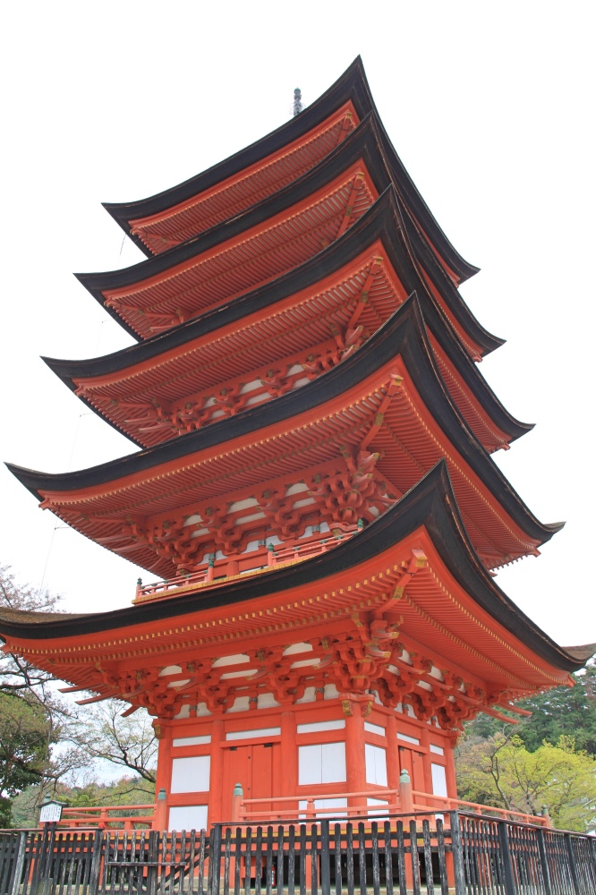 The Five-storied pagoda.