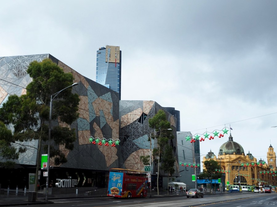The weird architecture of Fed Square!
