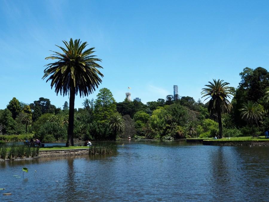The Ornamental Lake.
