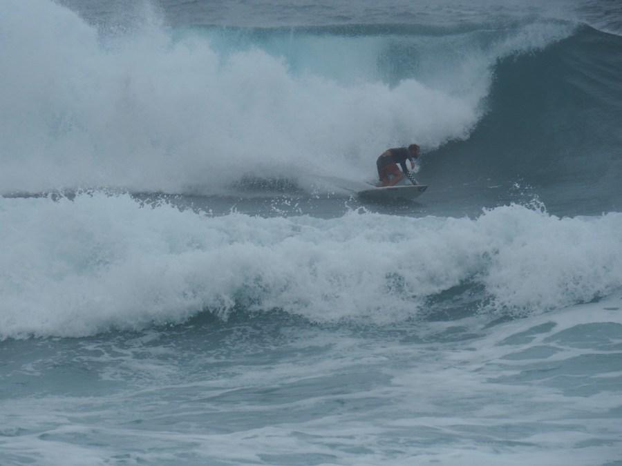 Crazy surf!