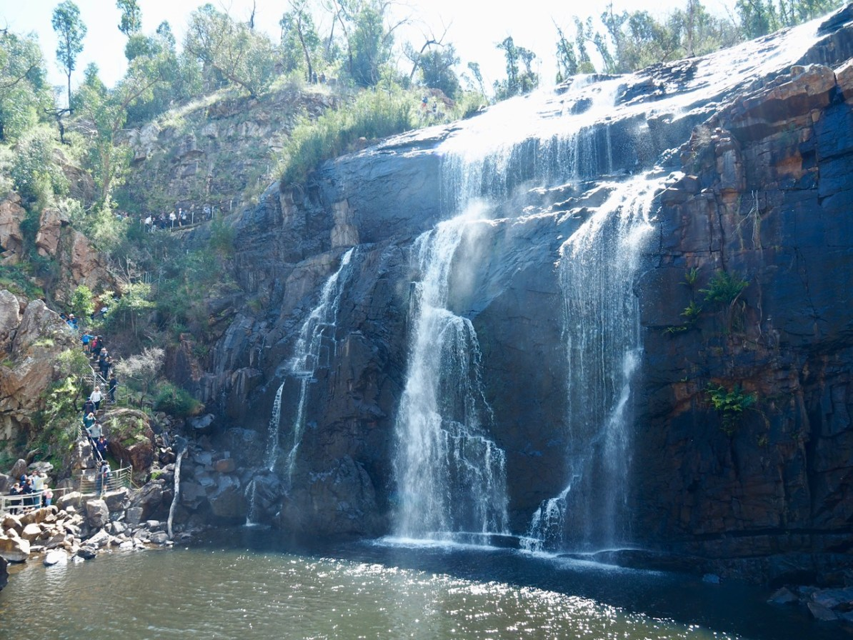 Mackenzie Falls in the Grampians.