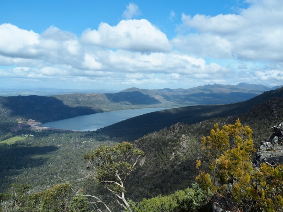 Hiking in the Grampians.