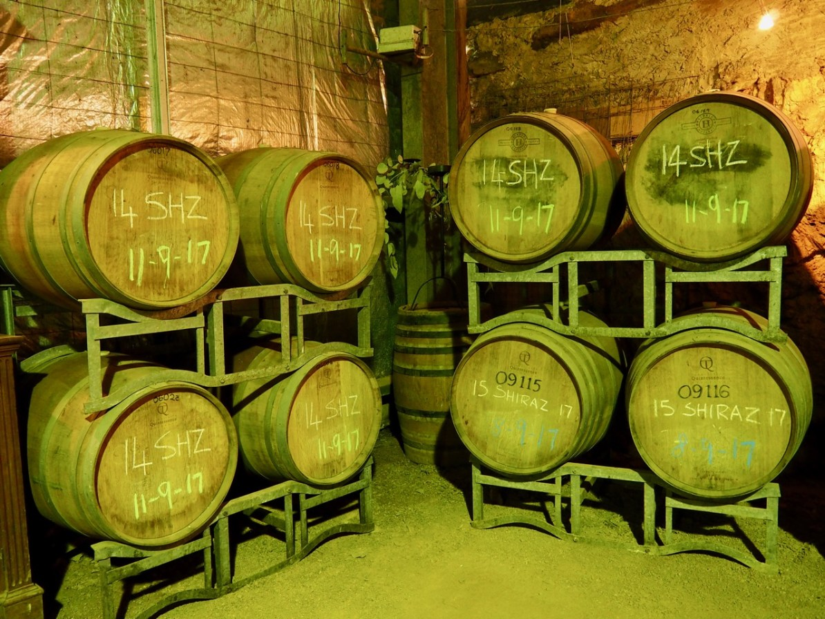 The underground cellar at Warrenmang.