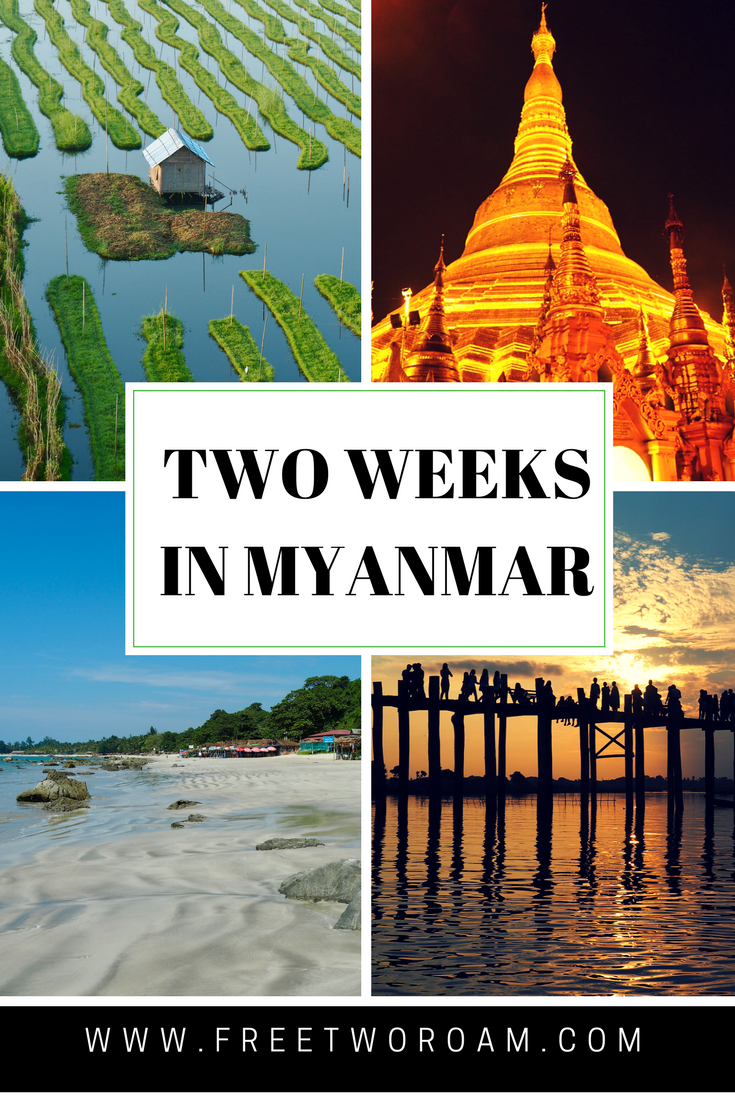 Two Weeks in Myanmar: An Itinerary For First Time Visitors