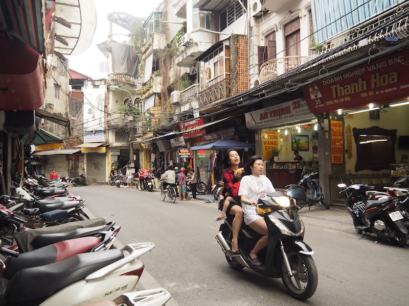 Motorbike panorama
