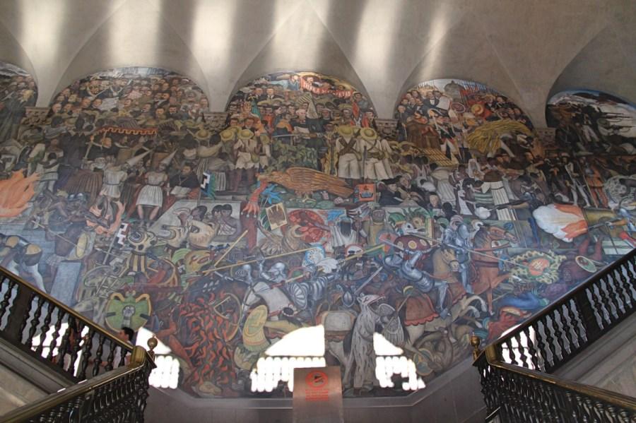 Diego Riviera Mural Mexico City