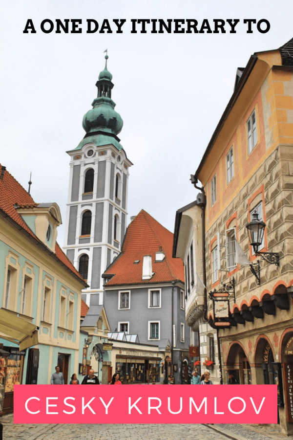 A One-day Itinerary to Cesky Krumlov