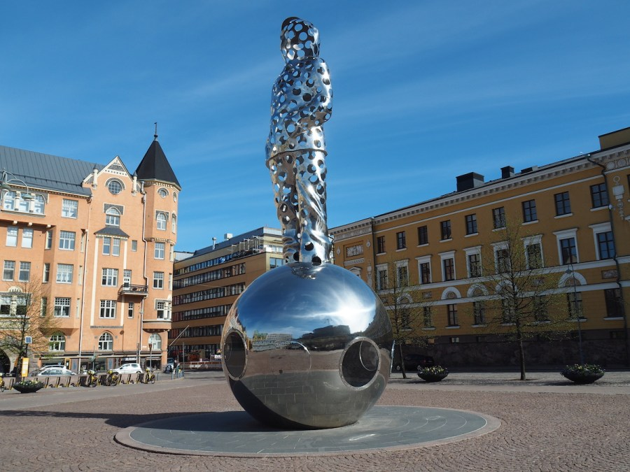 Some art in Helsinki centre