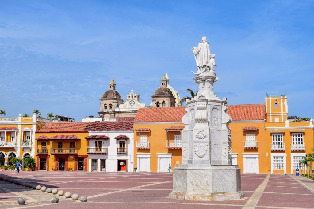 Colourful Cartagena