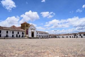 The colonial town of Villa de Leyva