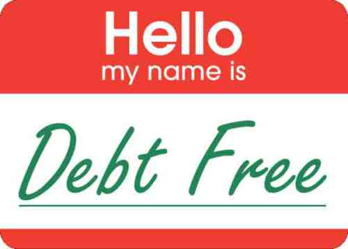 hello my name is debt free