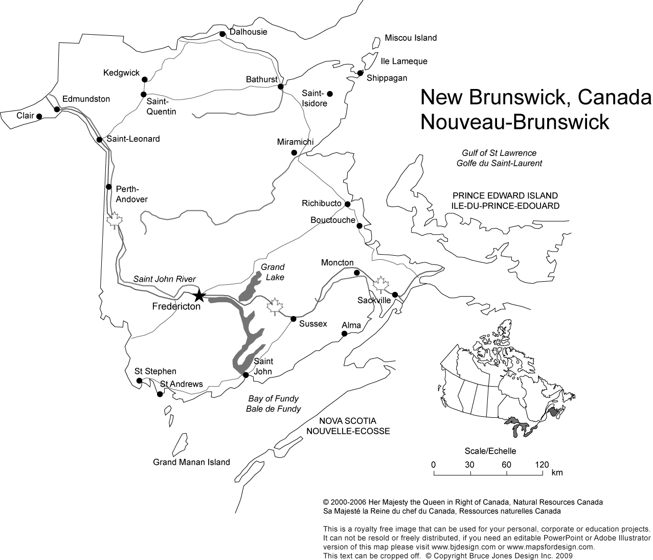 Printable Maps Of Canada That Are Persnickety
