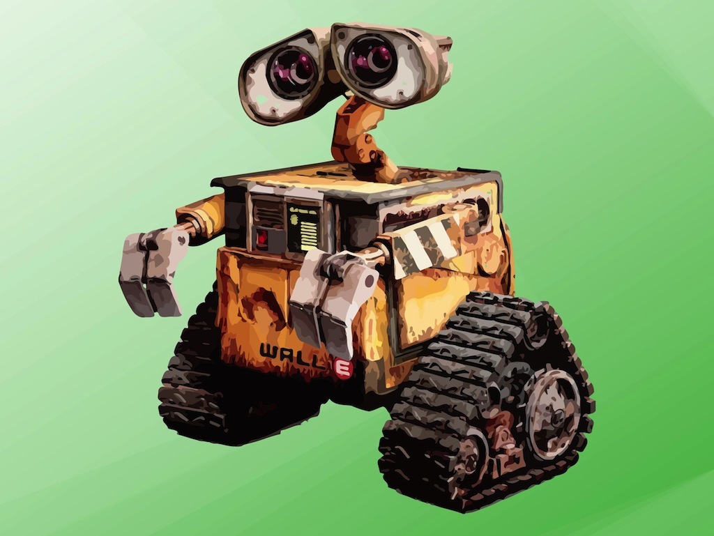 Wall E Vector Art Amp Graphics