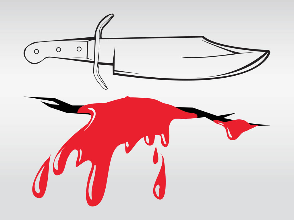 Knife And Wound Vector Art Amp Graphics