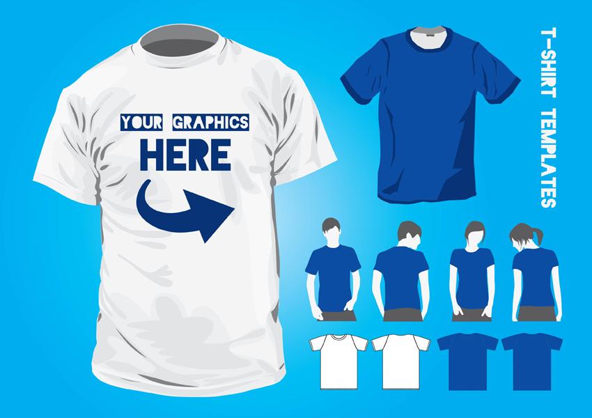 T Shirt Design Templates Vector Art Graphics Freevector Com