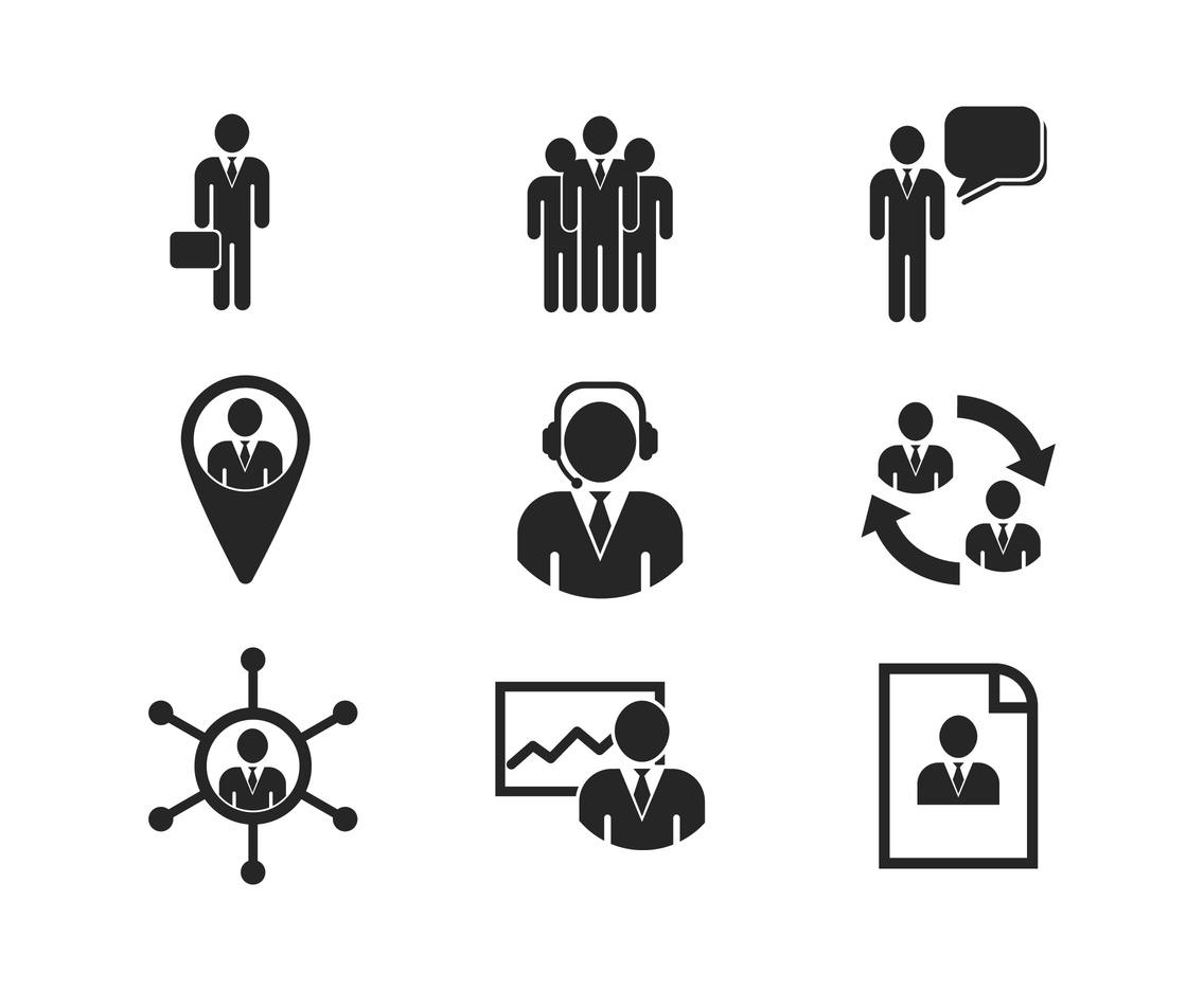 Free Business Person And Management Icon Vector Art Amp Graphics
